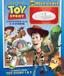 Toy Story Storybook with 3-D Viewer (Disney/Pixar)
