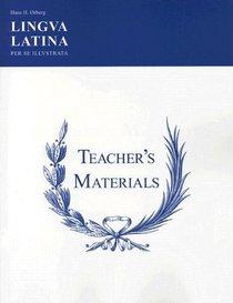 Lingua Latina Per Se Illustrata: Teachers' Materials