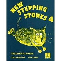 New Stepping Stones: Teacher's Book - Global No. 4