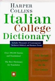 Harper Collins Italian College Dictionary