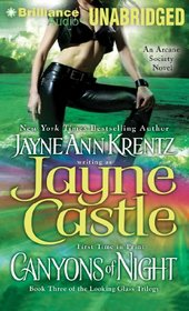 Canyons of Night: Book Three of the Looking Glass Trilogy (Arcane Society Series)