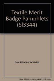 Textile Merit Badge Pamphlets (Sl3344)