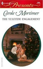 The Yuletide Engagement (Modern-Day Knights, Bk 3) (Harlequin Presents, No 2364)