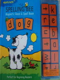 Spelling Bee: Magnetic Read & Spell Book