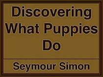 Discovering what puppies do