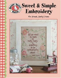 Gooseberry Patch Sweet & Simple Embroidery (Leisure Arts #4255)