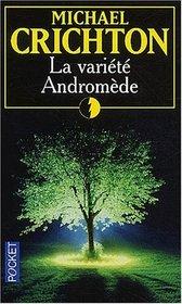 La Variete Andromede (The Andromeda Strain) (French Edition)
