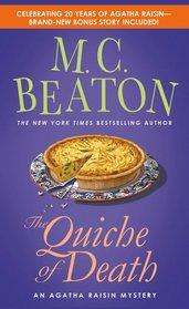 The Quiche of Death (20th anniversary edition) (Agatha Raisin)