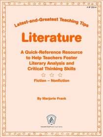 Literature (Greatest and Latest Teaching Tips)