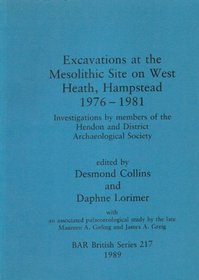 Excavations at the Mesolithic Site on West Heath, Hampstead 1976-1981 (pa-meso)