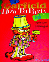 Garfield How to Party Book