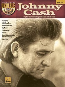 Johnny Cash - Ukulele Play-Along Vol. 14 (Book/CD)