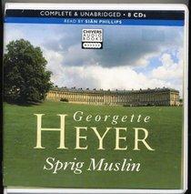 Sprig Muslin (Audio CD) (Unabridged)