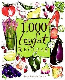 1,000 Lowfat Recipes (1,000 Recipes Series)