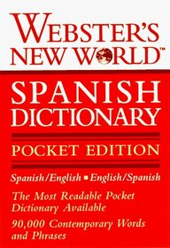 Webster's New World Spanish Dictionary (Webster's New World)