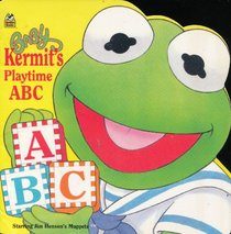 Baby Kermit's Playtime ABC (Starring Jim Henson's Muppets) (A Golden Super Shape Book)