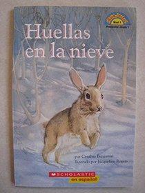 Huellas en la nieve (Hola, lector, Nivel 1 Preescolar-Grado 1)