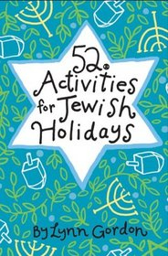 52 Activities for Jewish Holidays (52 Series)