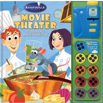 Disney Pixar Ratatouille Storybook and Movie Player (Movie Theater Storybooks)