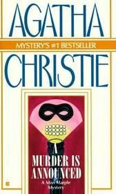 A Murder Is Announced  (Miss Marple, Bk 5)