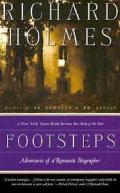 Footsteps : Adventures of a Romantic Biographer (Vintage Departures)