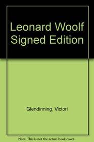 Leonard Woolf Signed Edition