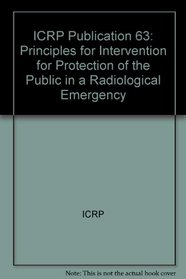 ICRP Publication 63: Principles for Intervention for Protection of the Public in a Radiological Emergency