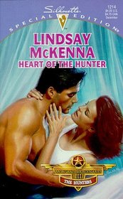 Heart of the Hunter (Morgan's Mercenaries: The Hunters, Bk 1) (Silhouette Special Edition, No 1214)