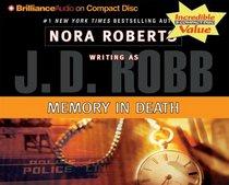 Memory in Death (In Death, Bk 22) (Audio CD) (Abridged)