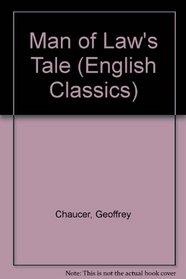 Man of Law's Tale (English Classics)