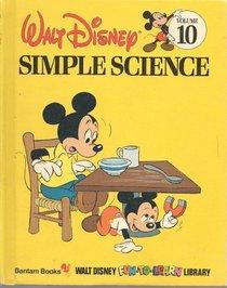 Simple Science (Disney Library, No 10)