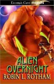 Alien Overnight (Aliens Overnight, Bk 1)