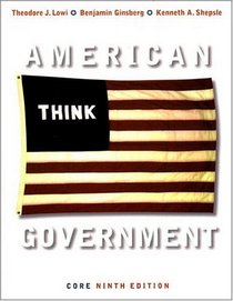 American Government, Ninth Core Edition
