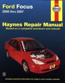 Haynes Repair Manual: Ford Focus 2000-2007