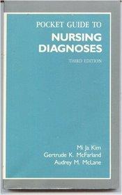 Pocket guide to nursing diagnoses (Pocket Guide to Nursing Diagnosis)