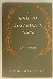 A Book of Australian Verse
