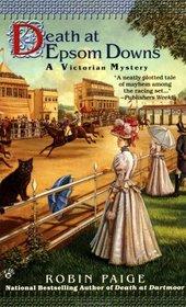 Death at Epsom Downs (Victorian-Edwardian Mystery, Bk 7)