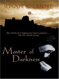 Master of Darkness (Wheeler Large Print Book Series)