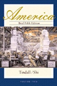 America  (Brief Fifth Edition, Bk 2)