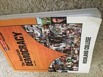 The American Democracy, 9th Edition, Texas Edition, Richland College
