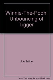 Winnie-The-Pooh: Unbouncing of Tigger
