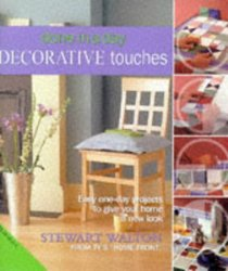 Decorative Touches (Done in a Day)