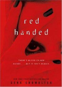 Red Handed (Alien Huntress, Bk 3)