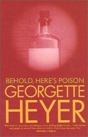 Behold, Here's Poison (Inspector Hannasyde, Bk 2)