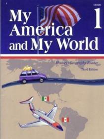Abeka My America and My World Grade 1 History and Geography Reader (student book)