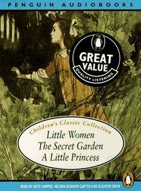 Children's Classic Collection: Little Women, The Secret Garden, and a Little Princess (Audiobook)