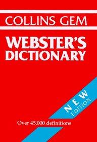 Collins Gem Webster