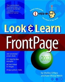 Look & Learn FrontPage 2002 (Deke McClelland's Look & Learn)