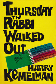 Thursday the Rabbi Walked Out (Rabbi Small, Bk 7)