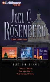 Joel C. Rosenberg CD Collection: The Last Jihad / The Last Days / The Ezekiel Option (Political Thrillers, Bks 1-3) (Audio CD) (Abridged)